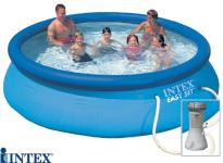 Swimming pool aufblasbar intex for Billige poolfolien