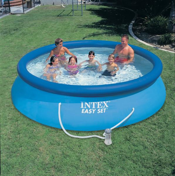 Swimming pool aufblasbar intex for Aufblasbare pools im angebot