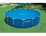 Solar cover round Intex pools